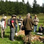 Pilzseminar auf dem Naturfreundehaus Feldberg