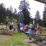 Sommerfest am Naturfreundehaus Feldberg