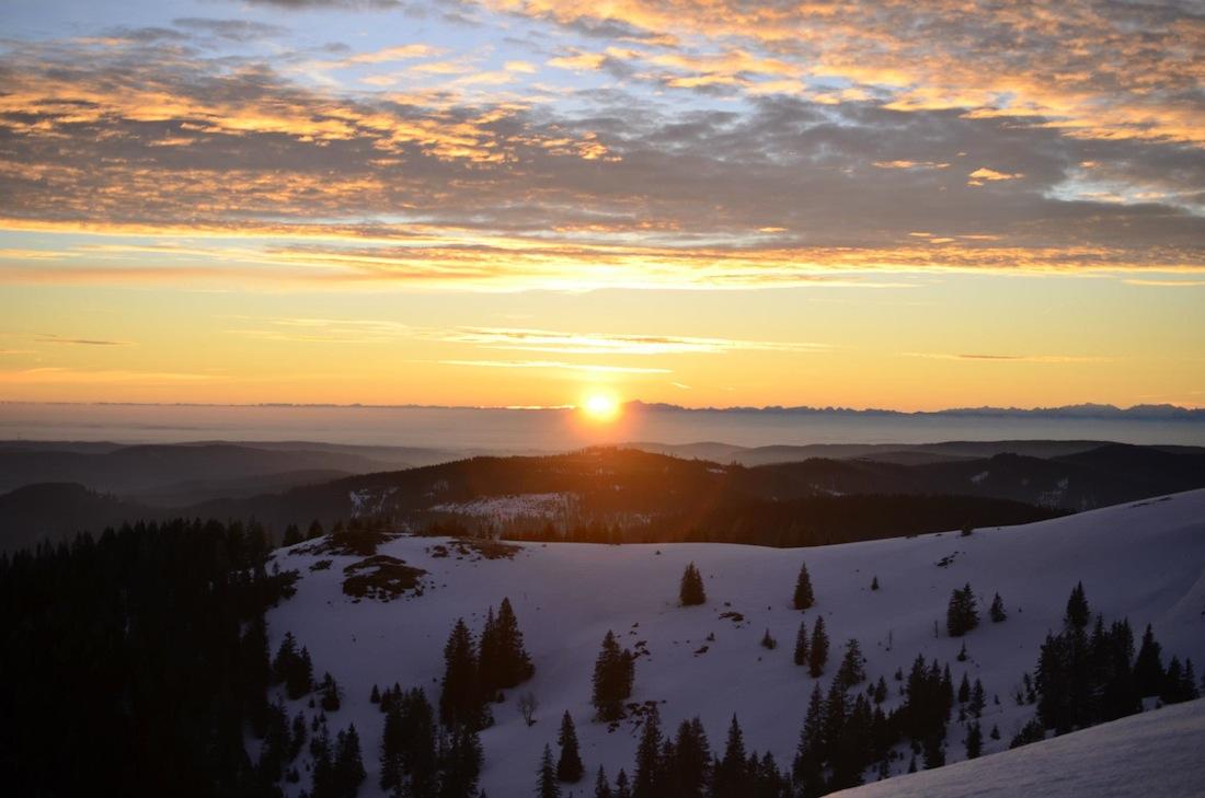 Sonnenaufgang 4. März 2013