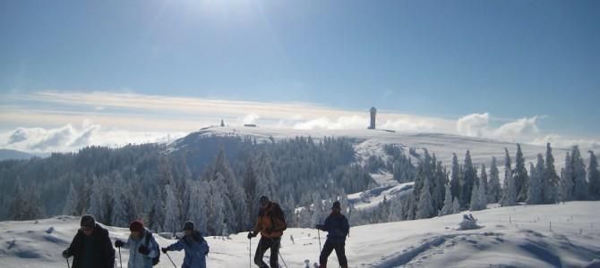 Einzigartiges Wintererlebnis auf dem Feldberg